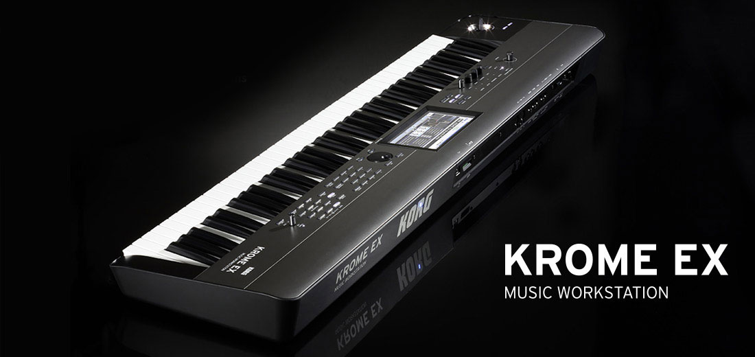 Workstation Korg Krome EX